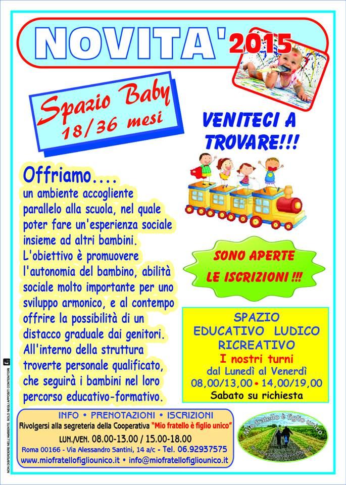 Spazio Baby 18/36 Mesi